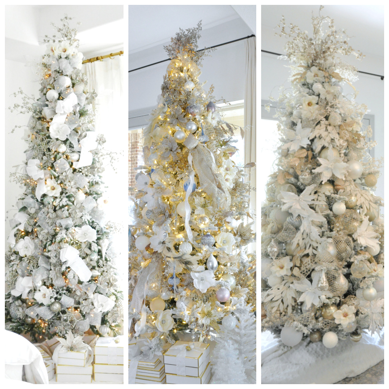 3 Beautiful Christmas Trees – Recreate Them!