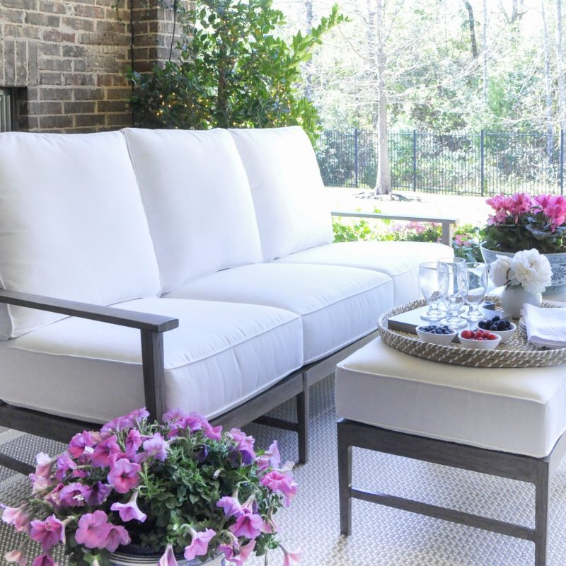 Spring-Ready Patio with Bassett Furniture