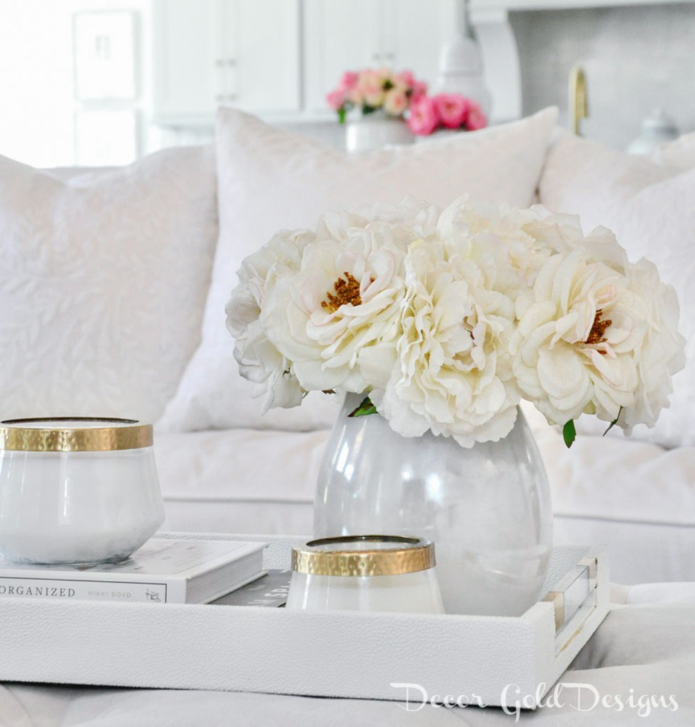 Spring home tour beautiful accessories