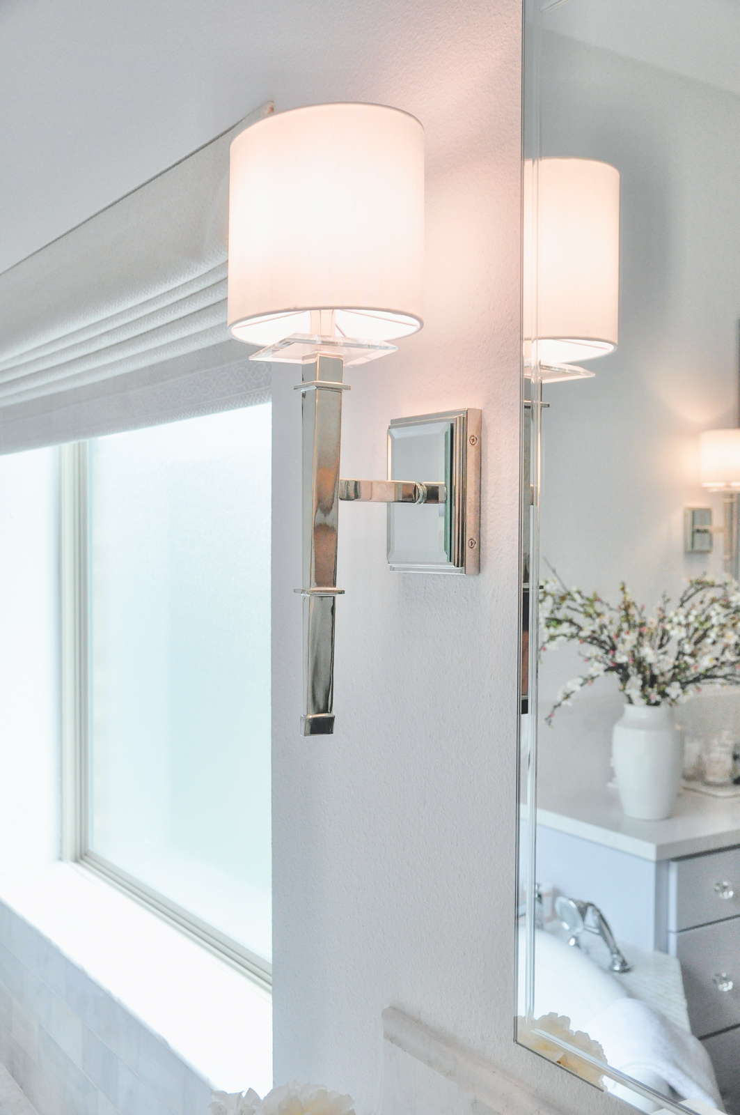 Master bathroom light