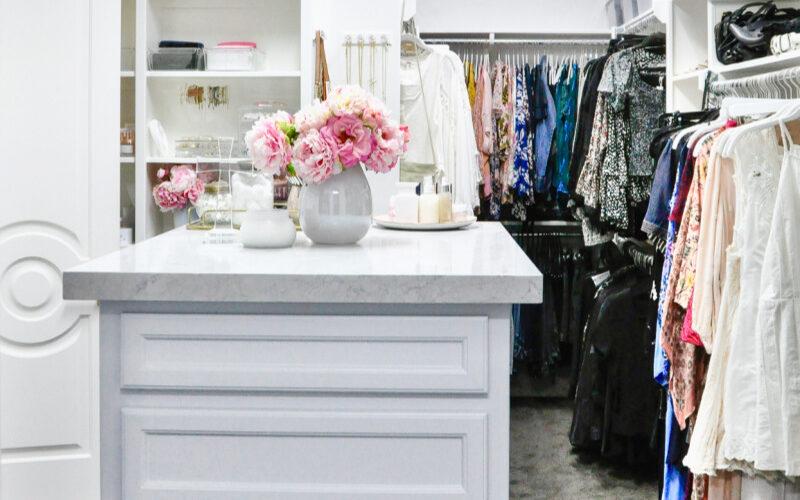 Create organized closet