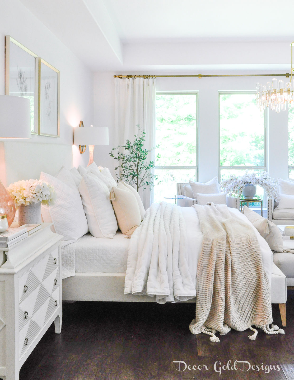 Master bedroom questions answers white blush beautiful