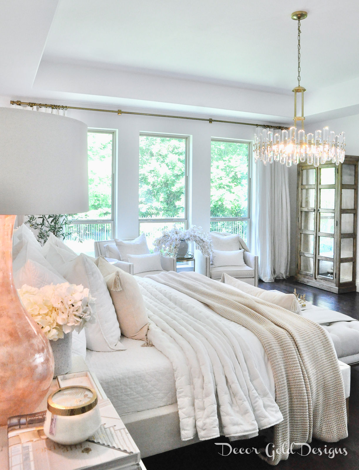 Master bedroom questions answers white blush beautiful decor