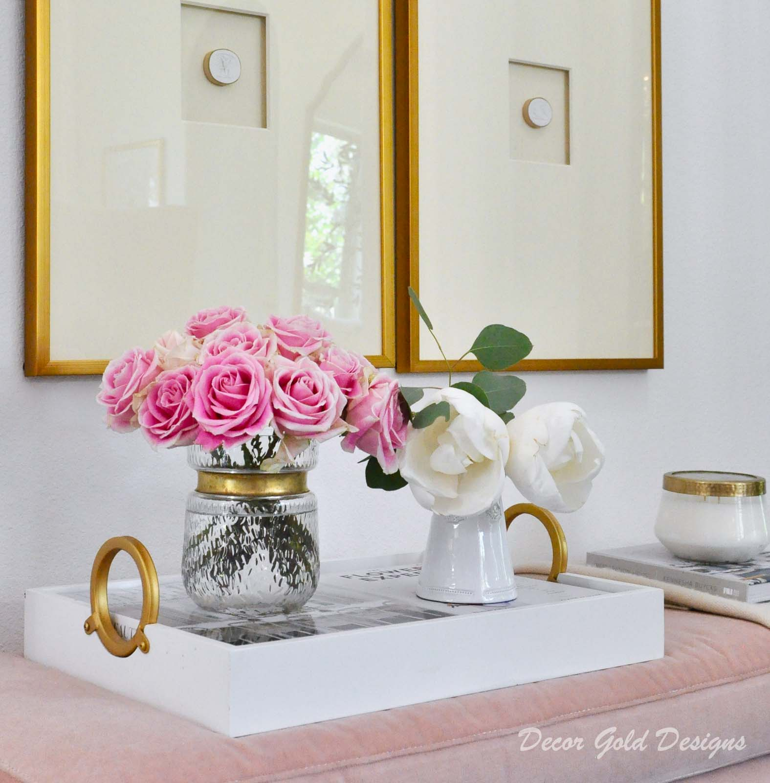 Entryway update beautiful decorative accessories