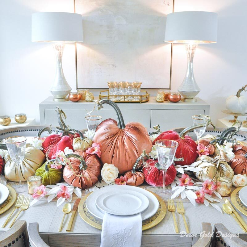 Fall Home Tour – Traditional and Elegant