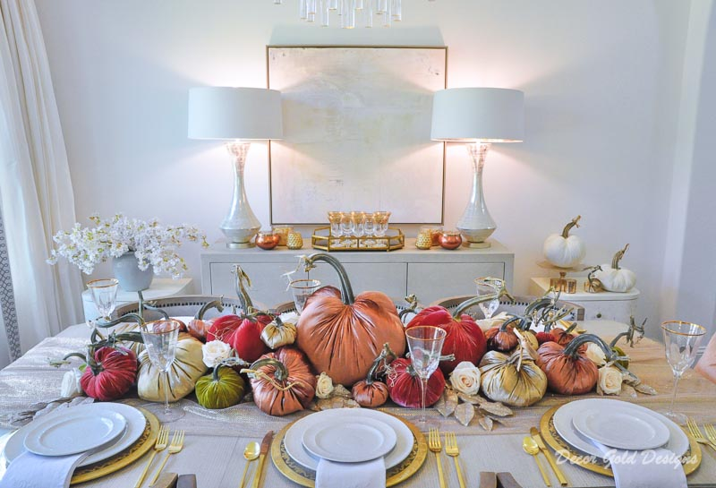 Elegant fall home tour