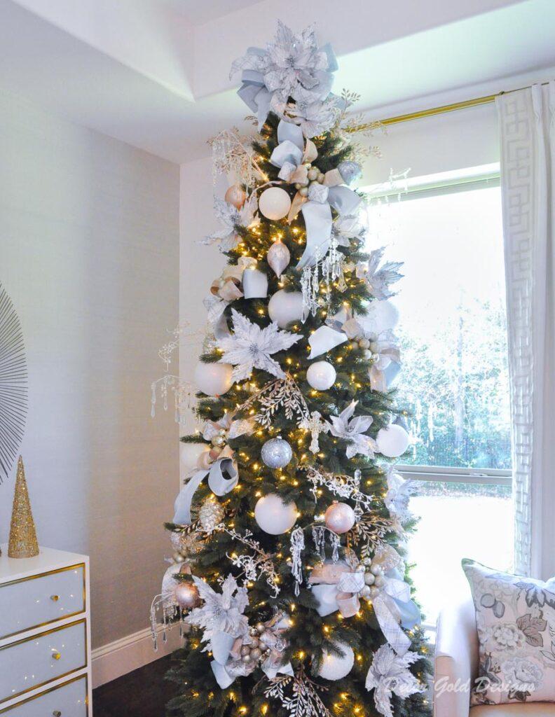 Christmas tree pastels