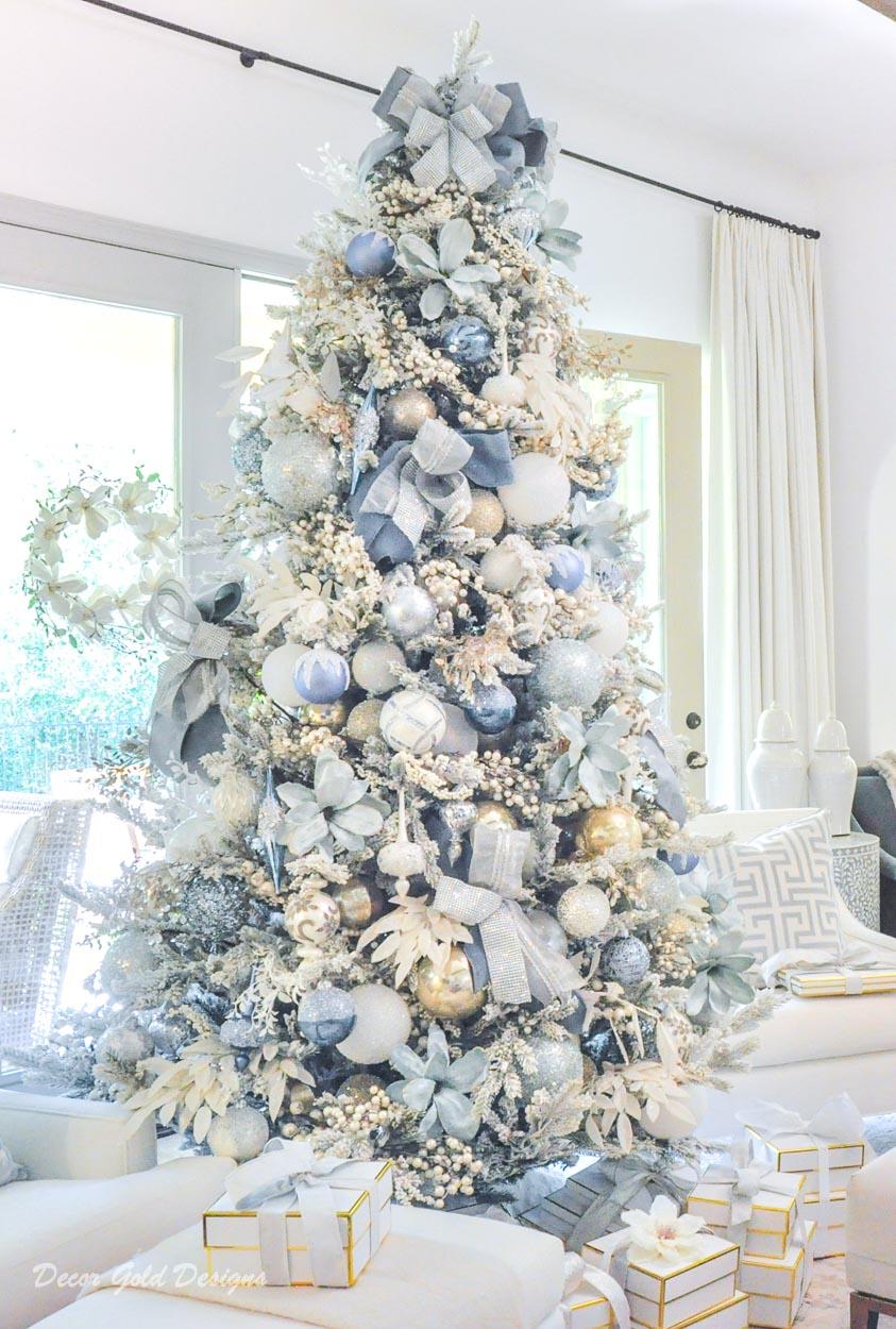 gorgeous elegant christmas trees
