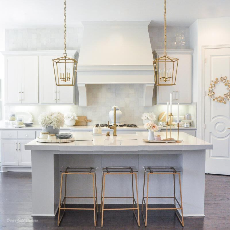 Winter Kitchen and Dining Room