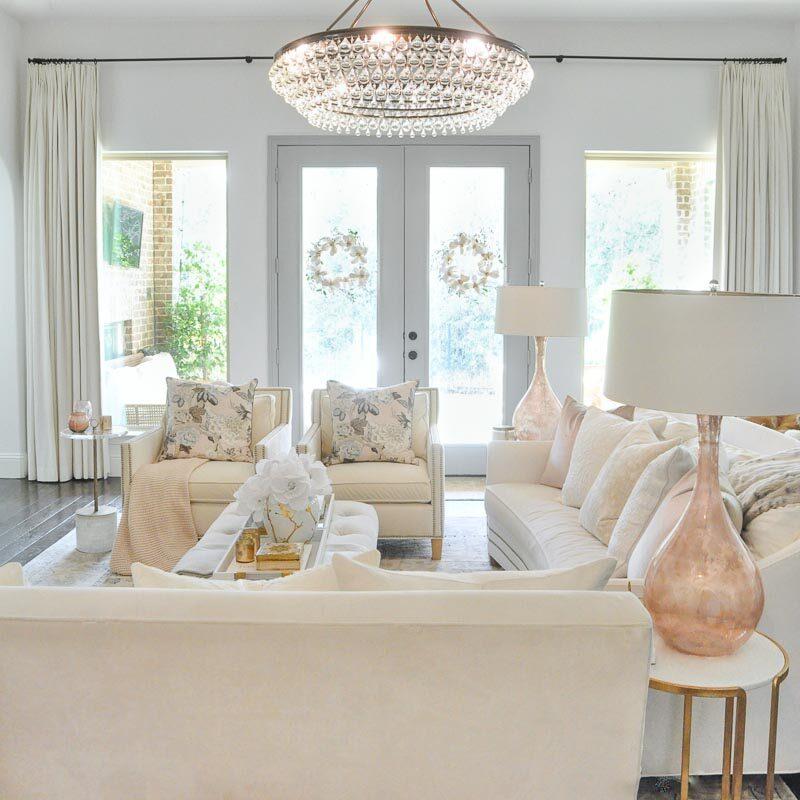 Winter Living Room