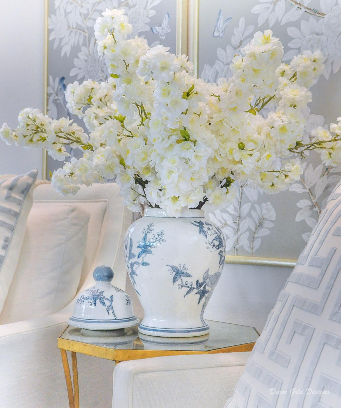 Spring home tour living room beautiful home accessories