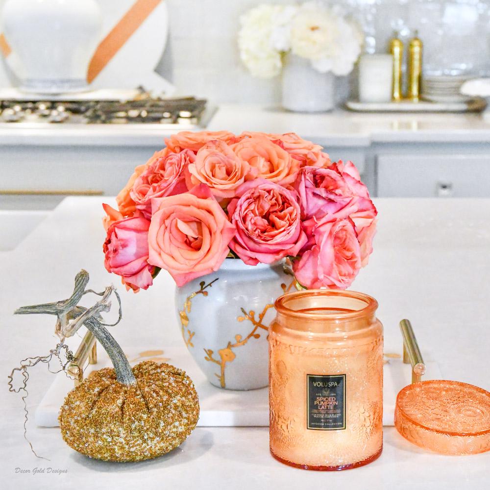 Fall home decor finds voluspa fall candle