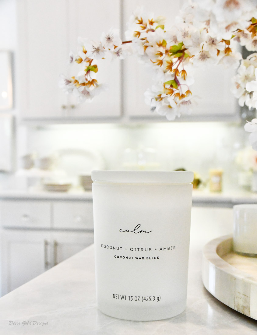 Fall home decor finds candle