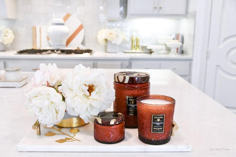 Fall home decor finds voluspa candles